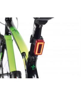 Luce bici crepuscolare posteriore 100 lumens